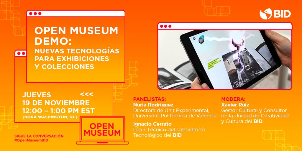 Webinar OPEN MUSEUM Demo